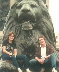 Trafalger Square, Kathy & Michael Potts